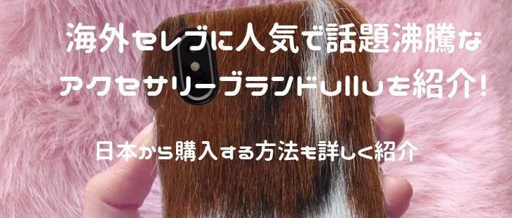 海外セレブも愛用するiPhoneケースブランドullu(ウル)とは?日本から買う方法は?