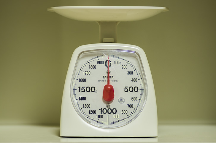 計量器の写真