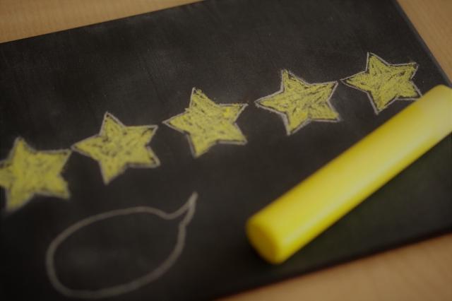 評価を表す星