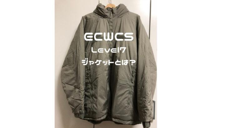 菅田将暉も着用していたECWCSLevel7とは?サイズ感やどこで買えるか紹介します。