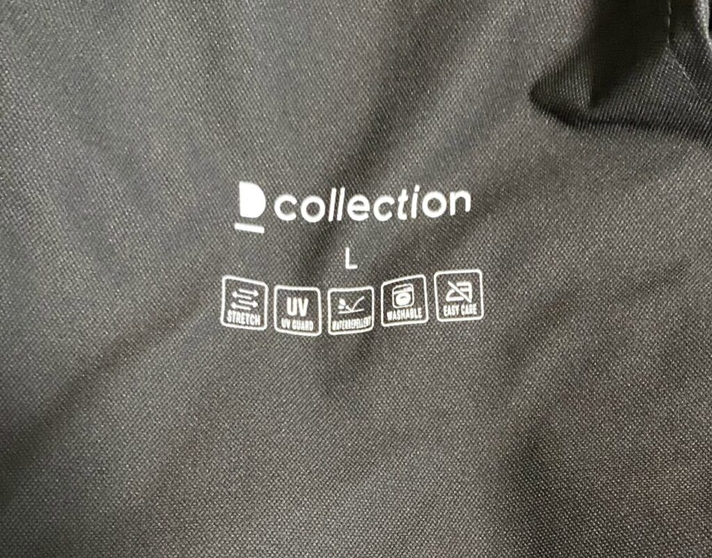 DcollectionのIt's moreジャケットの裏地を撮影した写真