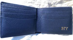 Maison de Sabreの財布を開いた写真