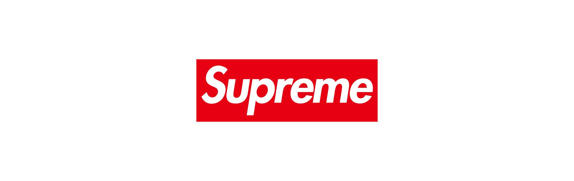 Supremeを代表するボックスロゴ